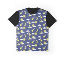 Sun, moon and comets Graphic T-Shirt