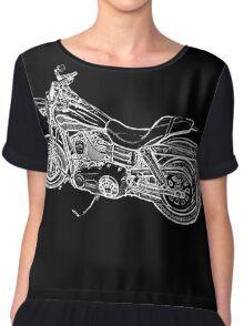 Urs' Harley (black) Chiffon Top