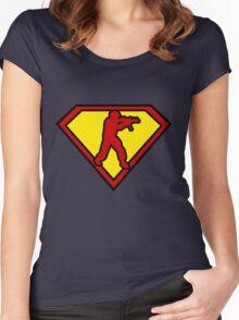 CSGO symbol Women's Fitted Scoop T-Shirt