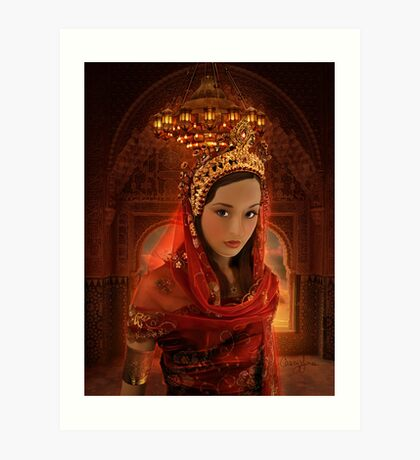 Hadassah - The Girl Who Became Queen Esther Art Print