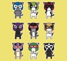 Cats Luchalibre9 One Piece - Short Sleeve