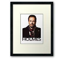 Elementary - Holmes Framed Print