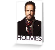 Elementary - Holmes Greeting Card