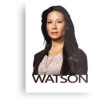 Elementary - Watson Metal Print
