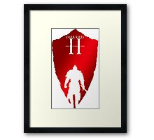 Knight Armour Shield Framed Print