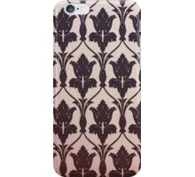 221B Baker Street Wallpaper iPhone Case/Skin