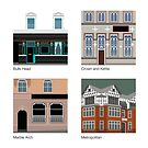 Manchester Pubs - Series #02 by exvista