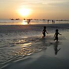 Kids on the beach, Boracay, Phillipines by JCMM
