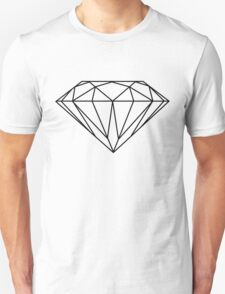 Diamond (black) Unisex T-Shirt