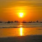 Boracay Sunset, Phillipines by JCMM