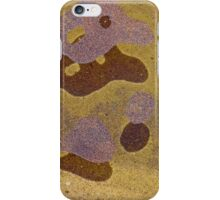 Sand spots on water iPhone Case/Skin