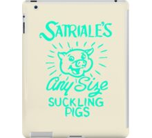 Satriale's - Any Size Suckling Pigs iPad Case/Skin