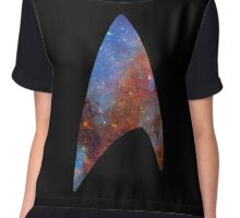 Starfleet Space Chiffon Top