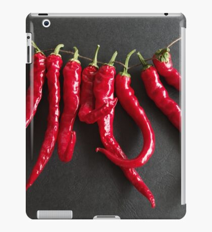 Dried chillies iPad Case/Skin