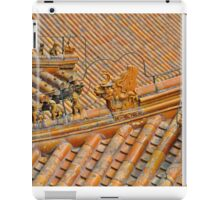 Chinese Temple Roof Abstract iPad Case/Skin