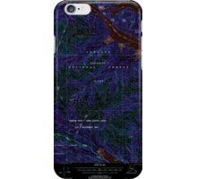 USGS TOPO Map Alaska AK Sitka D-6 359168 2000 63360 Inverted iPhone Case/Skin