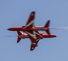 Red Arrows Synchro Cross by PhilEAF92
