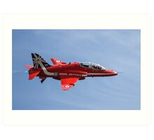 Red Arrows T1 Hawk Art Print