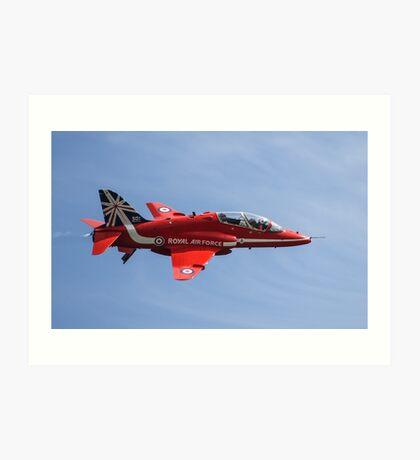 Red Arrows T1 Hawk Art Print