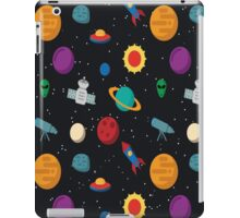Funny Space Pattern iPad Case/Skin