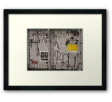 Happy RU Oranges and Lemons Framed Print
