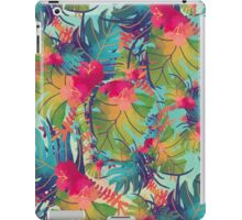Colourful Floral Pattern iPad Case/Skin