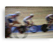 Bicycle Race Velodrome Canvas Print