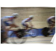 Bicycle Race Velodrome Poster