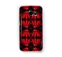 Red ribbons - pattern Samsung Galaxy Case/Skin