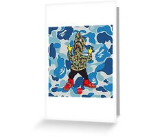 FU$K BAPE Greeting Card