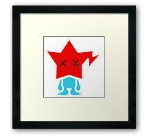 Star Guy Framed Print