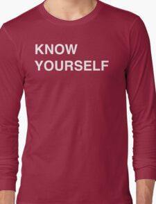 Know Yourself - Drake Long Sleeve T-Shirt