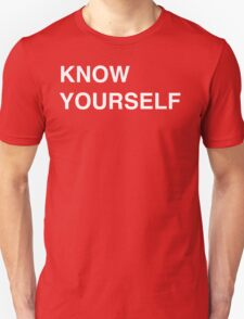Know Yourself - Drake Unisex T-Shirt