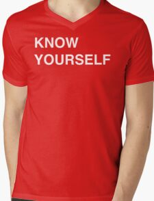 Know Yourself - Drake Mens V-Neck T-Shirt
