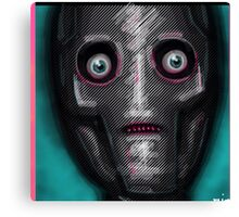 I am seeing robots Canvas Print