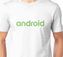 Android new logo Unisex T-Shirt