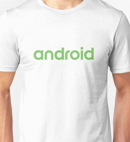 Android new logo Unisex T-Shirt