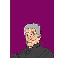 Magneto ( Sir Ian McKellen) Photographic Print
