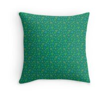 Animal Crossing Grass Pattern Throw Pillow