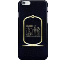 Weighing of the Heart iPhone Case/Skin