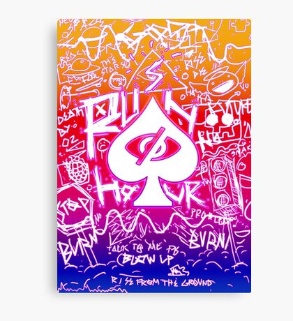 Rush Hour mk.1 Canvas Print