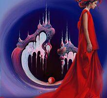 Red Pearl Castle by Anna Miarczynska