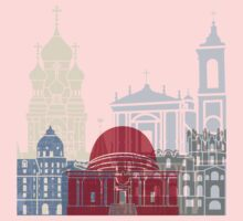 Nice skyline poster One Piece - Long Sleeve