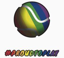 ProudToPlay - Tennis Kids Tee