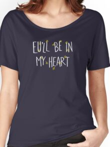 EU Love (For dark backgrounds) Women's Relaxed Fit T-Shirt