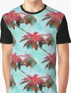 Coconut Palm Trees Summer Days  Graphic T-Shirt