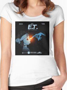 Project ET - esco terrestrial (future) Women's Fitted Scoop T-Shirt