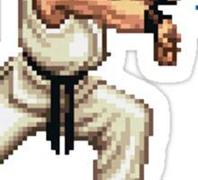Hadouken! 8-bit Ryu. Sticker