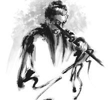 Samurai Bushido Code Japanese Warrior by Mariusz Szmerdt