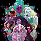 Crystal Gem Fusions by IamSare